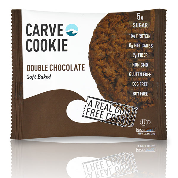 Carve Double Chocolate Cookie (6 pack)