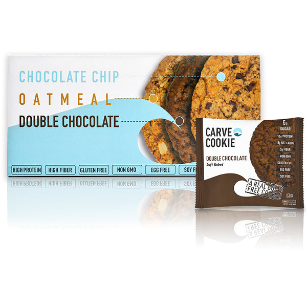 Carve Double Chocolate Cookie (12 pack)