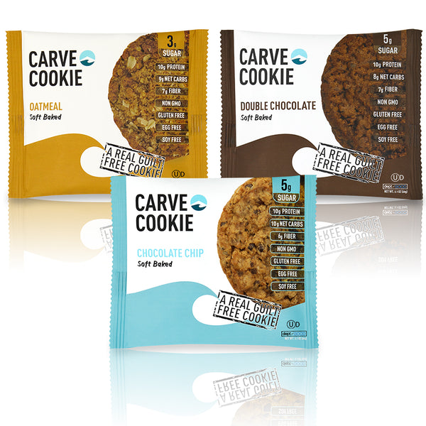 Carve Cookie Variety (3 pack)