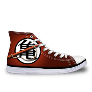 Exclusive DBZ Print Converse Sneakers
