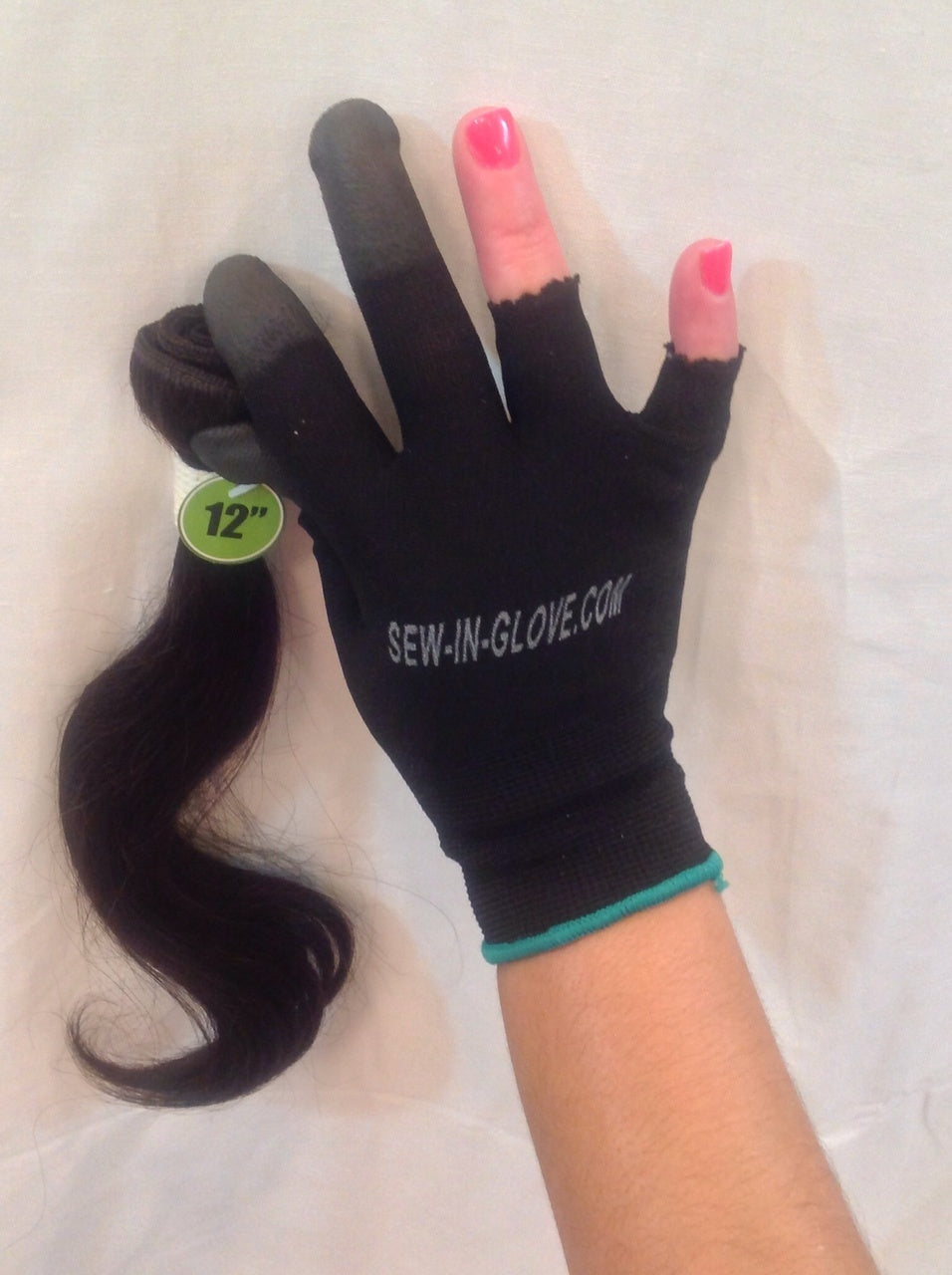 2 IN 1 Ladies Sew-in-glove/ Heat Resistant. Includes: 1. Sew -In- Glove  1 Needle and 1 Thread - Sew-in-glove