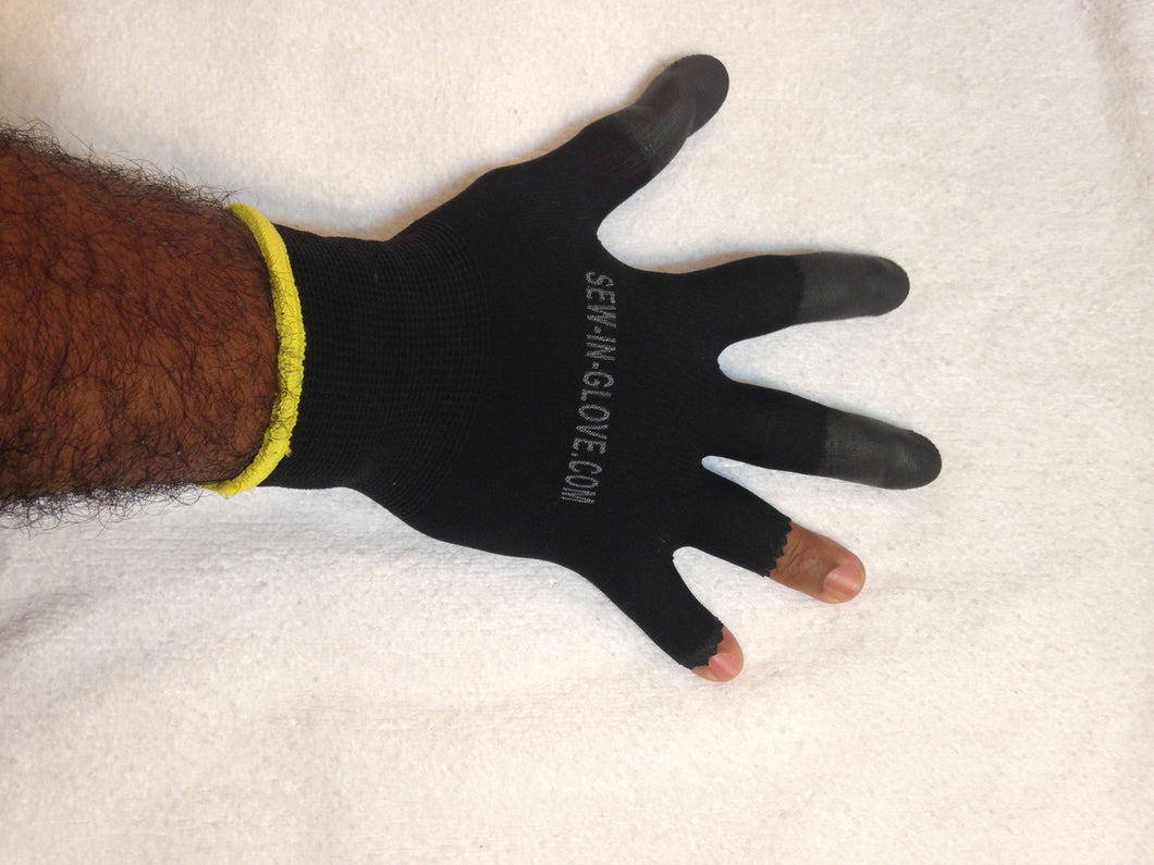 2 IN 1  Sew-in-glove/ Heat Resistant. Includes: 1. Man sew-in-glove 1Needle and 1 Thread - Sew-in-glove