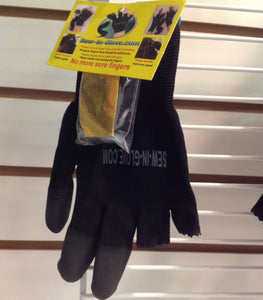 BONUS- 2 IN 1 Ladies Sew-in-glove/ Heat Resistant Glove. Includes 1 three finger Sew-In Glove. - Sew-in-glove