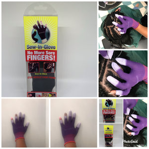 Two Pack Purple Gloves