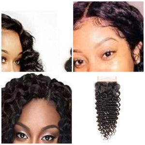 Deep Wave 4X4 Closure