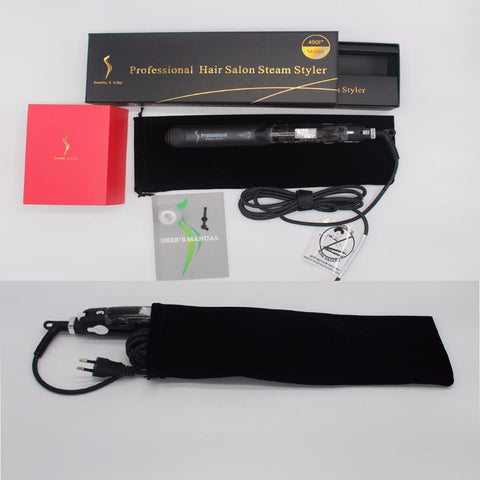 Professional Fast Heating Ceramic Steam Hair Straightener