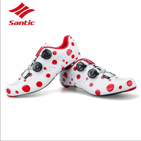 Polka Dot Carbon Soled Racing Shoes