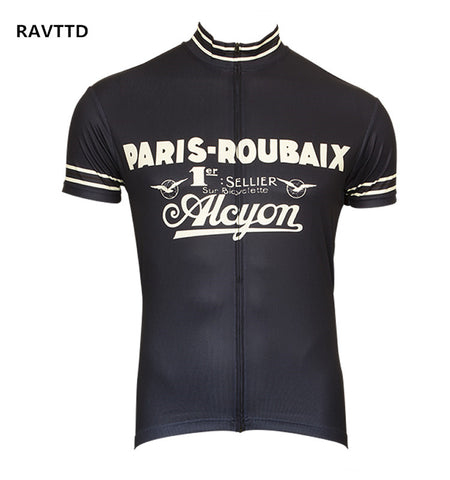 Retro Paris Roubaix Alcyon Team Jersey
