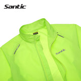 Santic UPF30+ Windproof & Waterproof Rain Jacket - Drafters Cycle Store