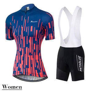 Phtxolue Womens Team Jersey and Bibs/Shorts - 3 Colour Options (QY0340) - Drafters Cycle Store