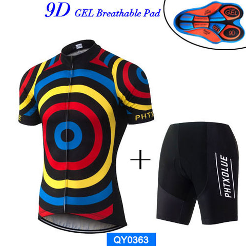 Phtxolue Bullseye Jersey & Shorts - Drafters Cycle Store