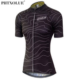 Phtxolue Gradient Lines Womens Jersey - 2 Colour Options (QY0343) - Drafters Cycle Store