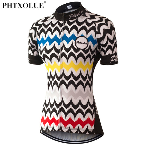 Phtxolue Women Jersey (QY0326) - Drafters Cycle Store