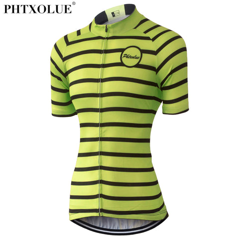 Phtxolue Women Fleuro Breathable Jersey (QY0324) - Drafters Cycle Store