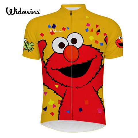 Elmo Celebration Sesame Street Yellow Jersey (quirky)