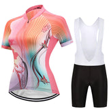 Womens Butterfly Dream Jersey and Bib Shorts Set