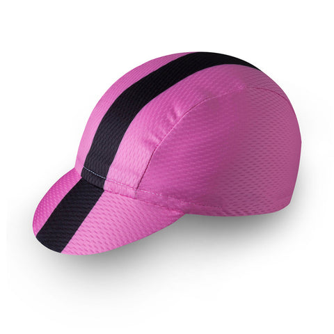 Pink Striped Breathable Cap