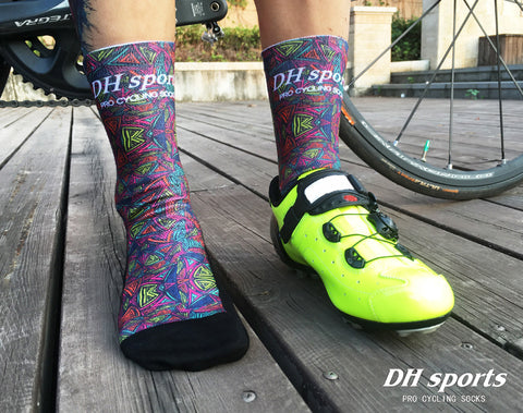 Tribal Tri Pattern Print Breathable Socks