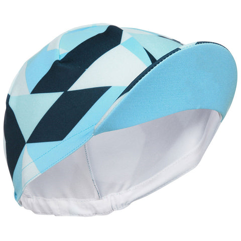 Blue and Navy Cycling Cap