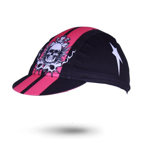 'Black powder' Cycling Cap - Drafters Cycle Store
