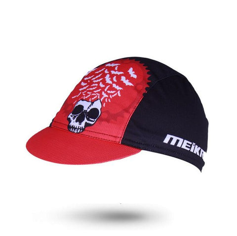 Red Bats Cycling Cap - Drafters Cycle Store