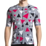Racmmer Grey Spaced Geometric Triangles - Drafters Cycle Store