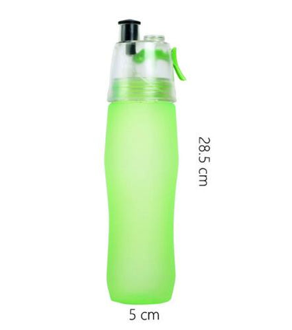740ml Water Bottle with Built-in Water Spray - Drafters Cycle Store