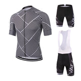 Woven Stripes Jersey & Shorts/Bibs Set