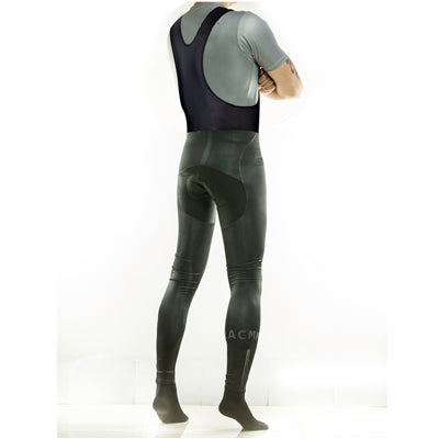 Roubaix Bib tights - Black and Grey