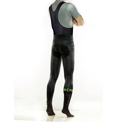 Roubaix Bib tights- Black and Green