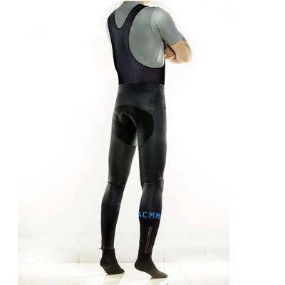 Roubaix Bib tights - Black and Blue
