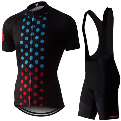 PHTXOLUE Rider Lines Jersey & Bib Shorts - Drafters Cycle Store