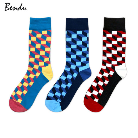Cubed Breathable Anti-Bacterial Socks (3 Pair Packs)