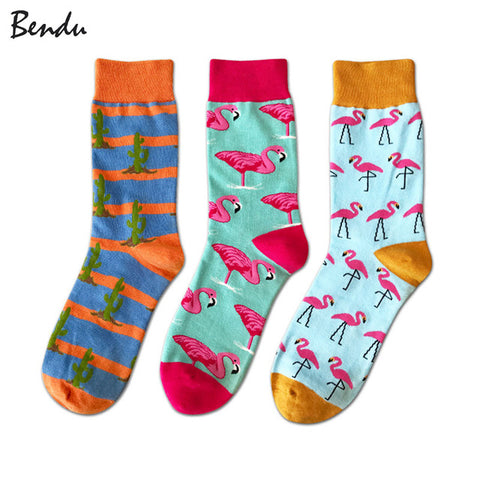 Animals Breathable Anti-Bacterial Socks (3 Pair Packs)