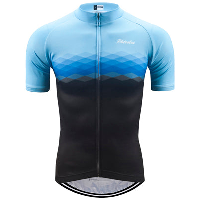 Phtxolue Black/Blue Honeycomb Jersey - Drafters Cycle Store