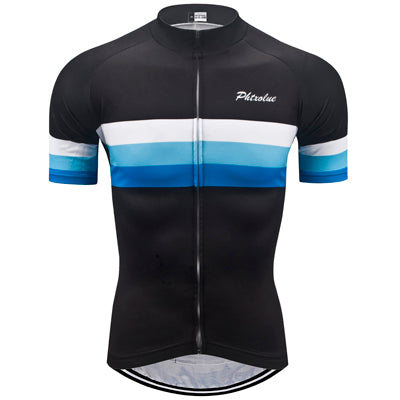 Phtxolue Blue Stripe Jersey - Drafters Cycle Store