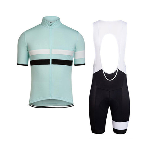 Faded Celeste Jersey & Bib Shorts Set