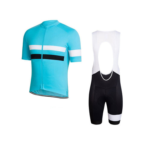 Aqua Jewel Jersey & Bib Shorts Set