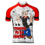 "Popeye ""Strong To Da Finish"" Jersey (quirky)"