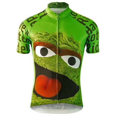 "Oscar the Grouch - ""Have a Rotten Ride"" Jersey (quirky)"
