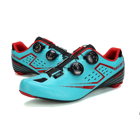 Lizard Shoes - Carbon Sole Dial laced Leather Cycle Shoes