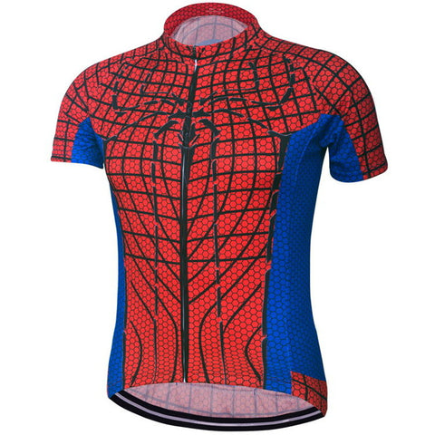 Spiderman Superhero Short Sleeve Jersey (Quirky)