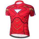 Ironman Superhero Short Sleeve Jersey (quirky)