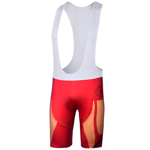 Ironman Superhero Bib Shorts (Quirky)