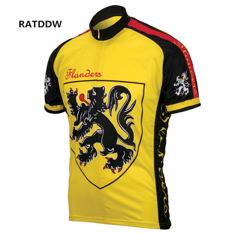 Lion Of Flanders Retro Jersey