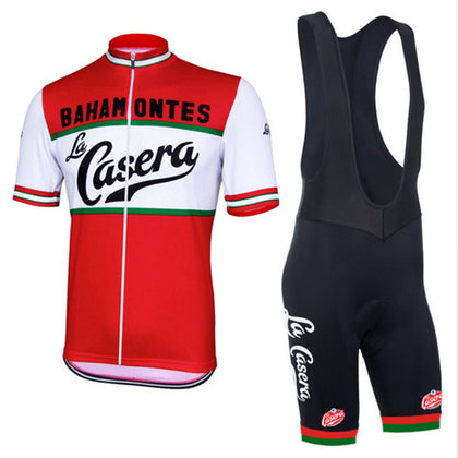 Retro Bahamontes La Casera Jersey and Bib Shorts Set