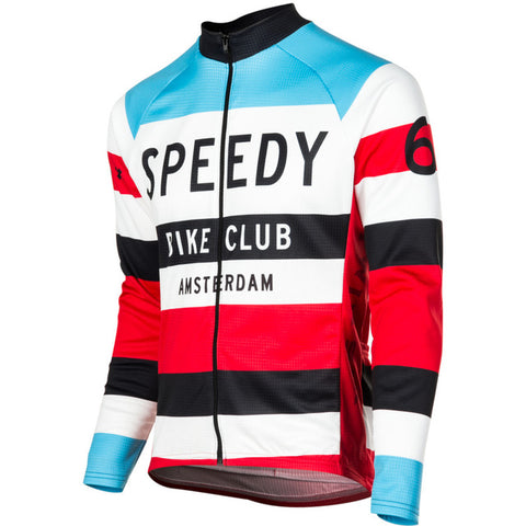 Speedy Bike Club Amsterdam Long Sleeve Jersey