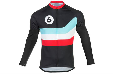 Number Six Racing Squad Long Sleeve Jersey