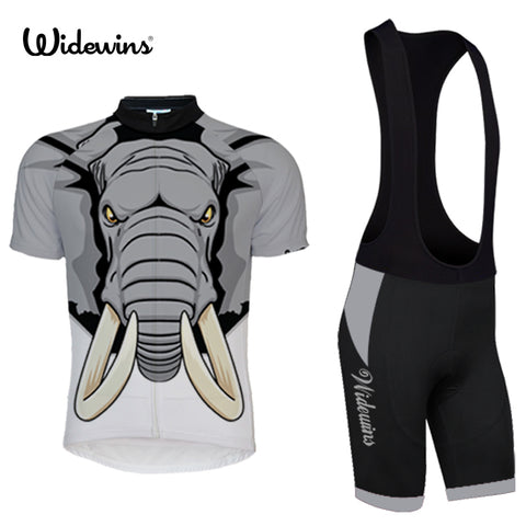 Tusk Elephant Short Sleeve Jersey & Bib Shorts Set