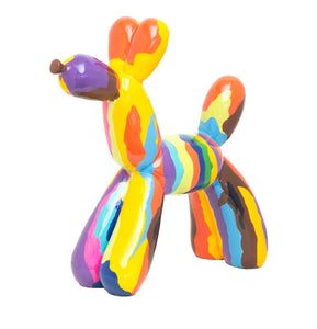 "Interior Illusions Plus Graffiti Balloon Dog 12"" tall - Hipchik"